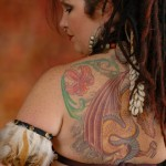 777 -- There is just too much ink not to let my back get a picture in sometimes!